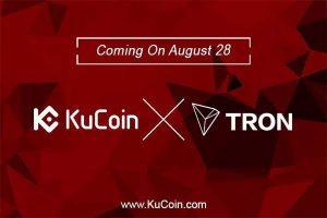 เหรียญ Tron ถูกลิสต์ขึ้นเว็บเทรด Kryptono และ KuCoin โดยราคาพุ่งขึ้นก่อนร่วงลงมา