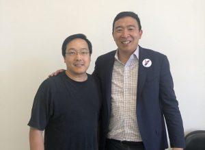 นาย Andrew Yang ผู้เข้าชิงตำแหน่งประธานาธิบดีสหรัฐฯ ปี 2020 พบผู้ก่อตั้ง Litecoin ราคาพุ่ง