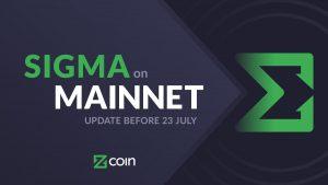 ZCoin เตรียมติดตั้ง Sigma บน mainnet วันที่ 23 กรกฎาคมนี้ ผู้ก่อตั้งชาวไทยเผยราคาควรขึ้น